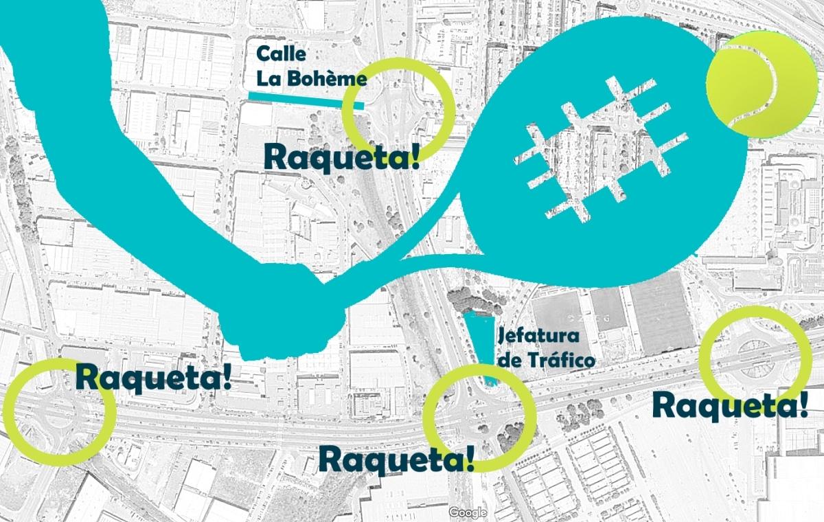 Como conducir por raquetas abiertas y cerradas en el examen de Málaga con autoescuela DRIVE formación
