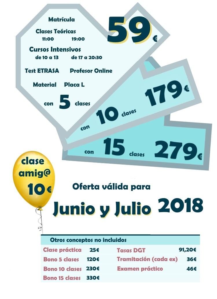 promo oferta matriculacion en autoescuela drive formacion Puerto de la Torre